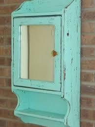 Beachy Blue medicine cabinet