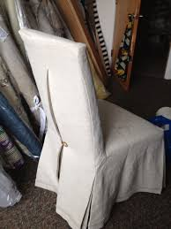 linen parsons chair slipcover with pleat and tortoise on slipcoversource chicago