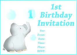Free Printable Personalized Birthday Invitation Cards Blank Birthday