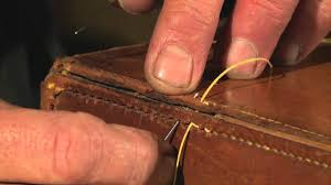 Restoring Antique Leather How To Restore Leather Goods Pt 2 Youtube