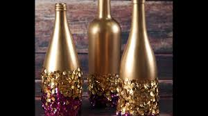 Wine Bottles Decoration Ideas WINE BOTTLE DECORATIVE IDEAS YouTube 3