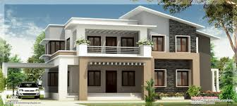 First Floor House Design Pictures Modern Mix Double Floor Home Design Indian House Plans