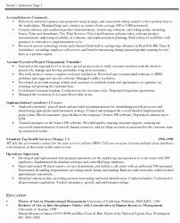 Project Management Resume Example Project Resume Example Project Manager Resume Project Manager 7