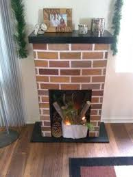 diy faux fireplace out of cardboard i am making my own for the bedroom