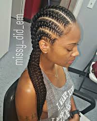 Simple and elegant. Beautiful cornrows lovely make up | Fantastic ...