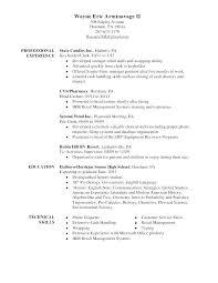 Professional Strengths Resume Strengths For A Resume Emelcotest Com