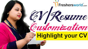 cv resume customization effective ways to make your cv stand cv resume customization effective ways to make your cv stand out resume building skills