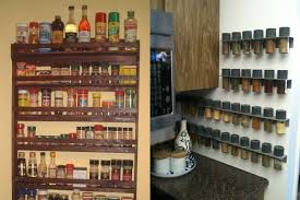 How To Build A Spice Rack Unique How To Make Your Kitchen An Accidentfree Area