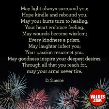 Live A Light On Traduzione May Light Always Surround You Hope Kindle And Rebound You