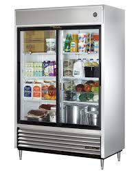 Glass Refrigerator Amazoncom True Tsd 47g Ld 2 Door Sliding Glass Door Refrigerator
