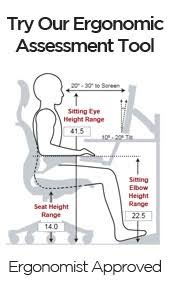 cool ergonomic office desk chair. use human solutionu0027s ergonomic desk height calculator to determine the ideal positioning and for your office chair keyboard tray cool r