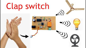 Clap Control Light Switch Clap Switch Circuit For On Off Fan And Light