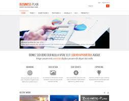 Free Business Templates Business Plan Ii Free Responsive Business Joomla Template