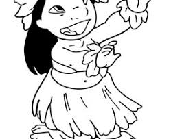 Small Picture Hawaiian Flower Coloring Pages Flower Coloring Page Tropical