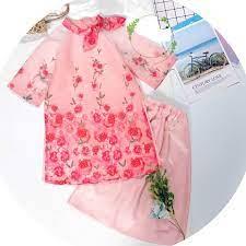 Áo dài cách tân bé gái ADBG002 dành cho bé từ 1 2 3 4 5 6 7 8 9 10 tuổi -  Đầm bé gái Thương hiệu OEM