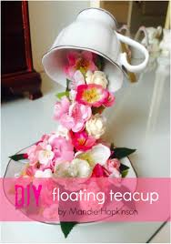 Decorating With Teacups And Saucers How To Make A Floating Teacup Grillo Designs 44