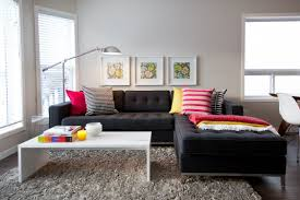 small front room decorating ideas living room home design office workspace amazing modern living room design with black sofa white table and standing lamp amazing office living