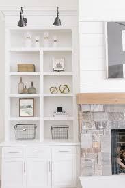 shelf lighting ideas. white styled bookcase shelf lighting ideas