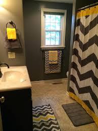 yellow bathroom color ideas. Yellow Bathroom Ideas Grey And Chevron Black . Color E