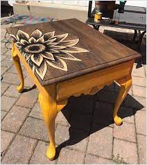 makeover to old tables