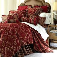 red velvet comforter king bedding brown and gold sets cream new palazzo 1 velvet comforter king red