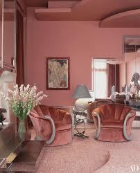 Barbra Streisand Interior Design Barbra Streisands Malibu House Art Deco Living Room Art