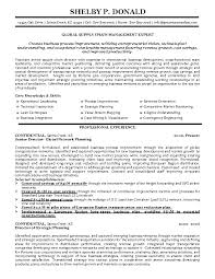 Global Supply Chain Manager Resume Pdfsimpli