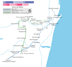 Chennai Metro Rail Map Lines Route Hours Tickets