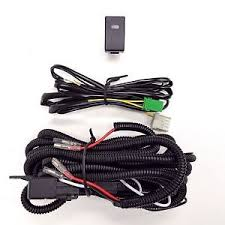 h3 12v 30a fog light wiring harness relay kit on off led switch 2 image is loading h3 12v 30a fog light wiring harness relay