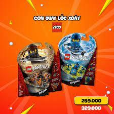 Mykingdom - CON QUAY LỐC XOÁY ĐẤT - SẤM SÉT Thương hiệu: LEGO NINJAGO Xuất  xứ: ĐAN MẠCH Giá sale: 259,000 VNĐ (Giá gốc 329,000 VNĐ) CON QUAY LỐC XOÁY  ĐẤT (117