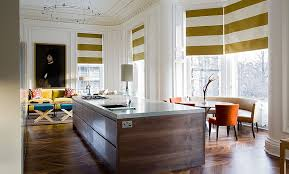 awesome striped kitchen curtains window treatments green white striped fabric windows blinds brown wooden laminate flooring