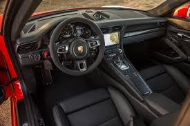 porsche 911 turbo s interior. 2017 porsche 911 turbo s interior view