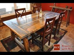 diy rustic dining room tables. Rustic Dining Table Diy Room Tables S