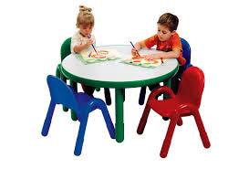 preschool table. Angeles® BaseLine® Preschool Table And Chairs Set - 36\ H