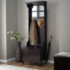 Hall Coat Rack With Storage Custom Storage Benches With Coat Rack Hall Tidy With Bench Shoe Storage