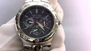 men s nautica multifunction watch n10061 men s nautica multifunction watch n10061