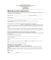 Printable Medical Release Form For Children Magnificent 48 Medical Release Form Templates Template Lab