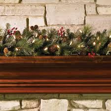 the decorated cordless prelit holiday 6 garland