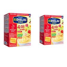 COMBO 2 HỘP BỘT ĂN DẶM RIDIELAC GOLD 4 VỊ MẶN - HỘP GIẤY 200G   Shop Sữa Hà  Phương