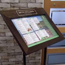 Menu Display Stands Restaurant Pin by Avery Sohn on BB Outdoor Menu CaseStand Pinterest 14