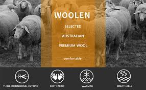 zeetoo <b>Men's Wool</b> Peacoat <b>Winter</b> Buttons <b>Jacket</b> Windproof ...