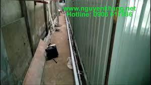 Lắp đặt bếp hồng ngoại 1602A cho lò sấy sơn tĩnh điện - YouTube