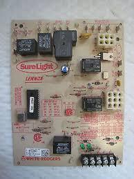 lennox furnace control board. lennox surelight white rodgers 97l48 97l4801 50a62-121 furnace control board