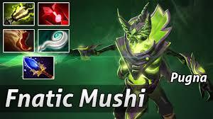rampage pugna fnatic mushi pro dota 2 youtube