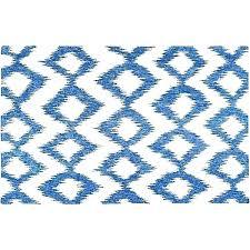 blue ikat rug west elm sawyer taupe textured wool painted teardrop kilim lagoon blue ikat rug