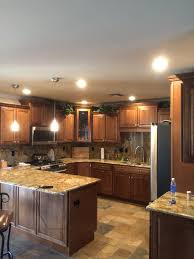 Can Lighting In Kitchen Az Recessed Lighting Installation Of 4 Inch Leds In Kitchen Az