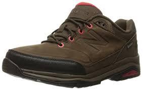 new balance walking shoes. new balance men\u0027s 1300 trail walking shoe, brown/red, shoes