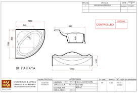 here to view complete specification bathtub pattaya