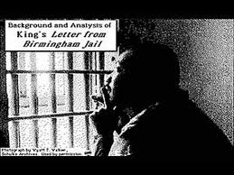 Letter from Birmingham Jail - YouTube