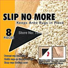 the rug corner hot 8 non slip rug grips mats slip pad reusable washable suction grip